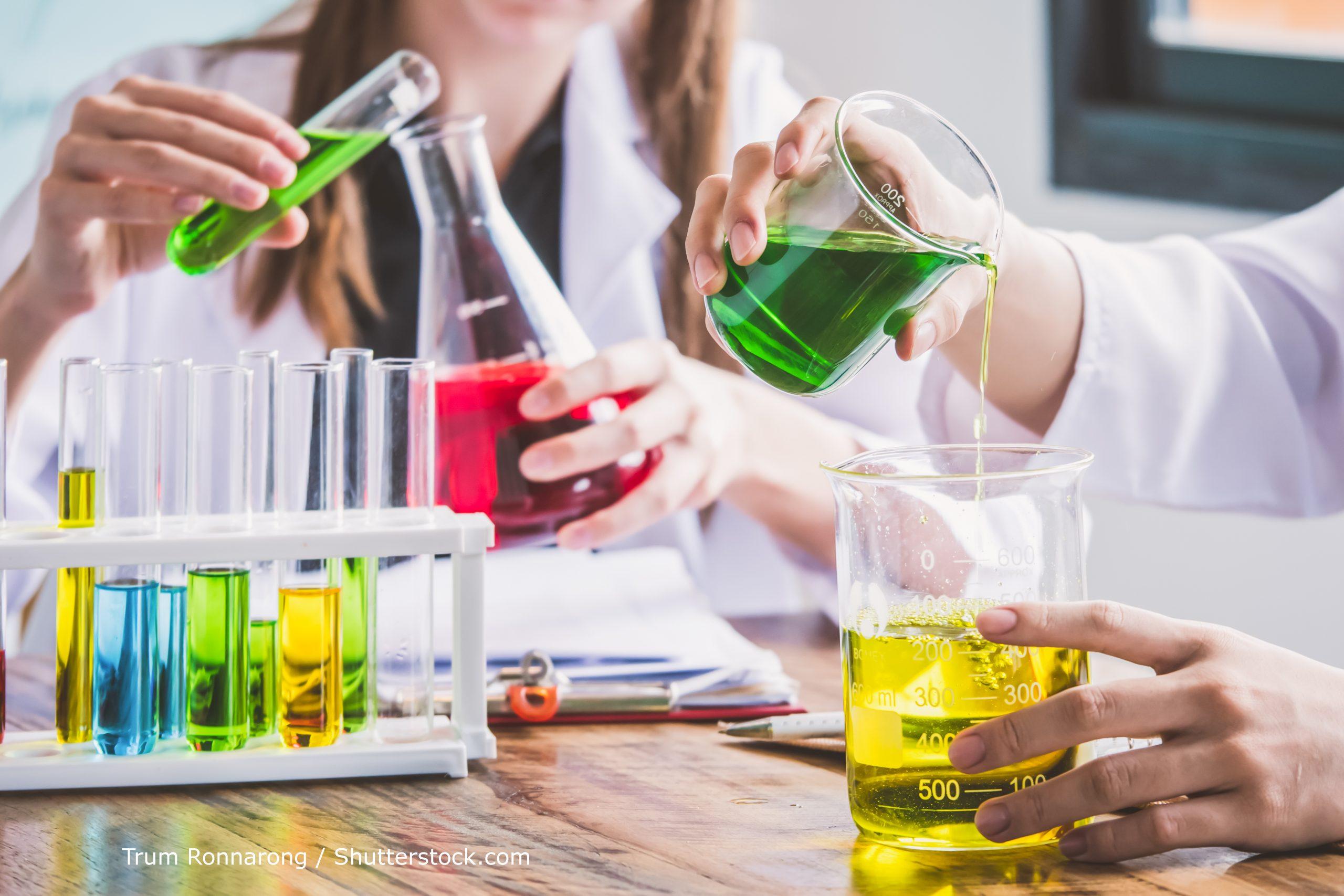 estudantes de química